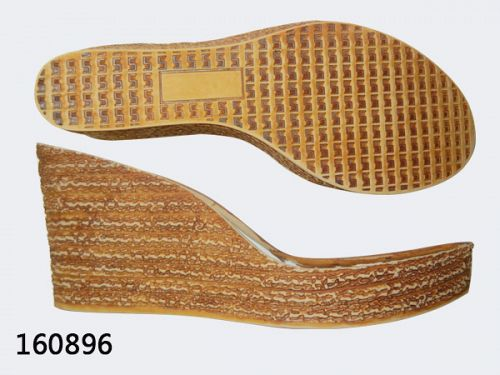 Rubber soles for shoe making