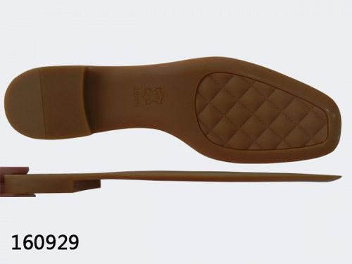 Rubber soles for sandals