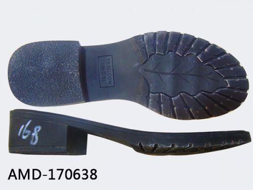 Shoe heels and soles