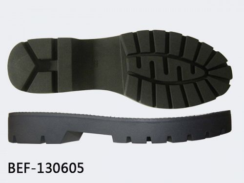 Gum rubber sole