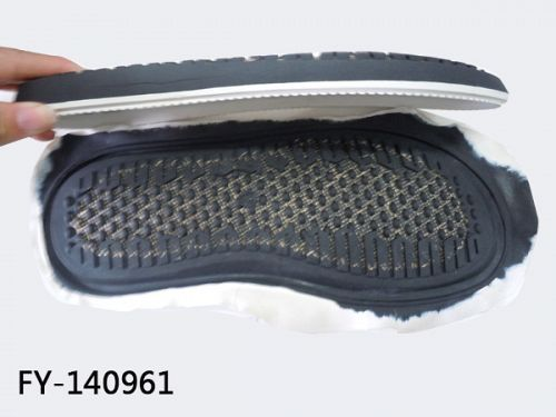 Baby shoes rubber sole