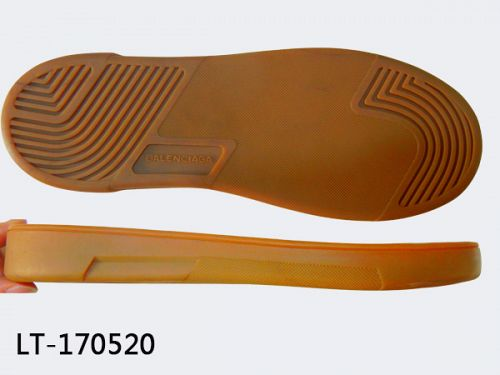 Rubber sole shoes