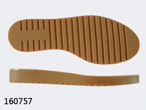 Rubber sole of shoe