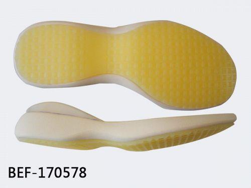 Rubber+eva sole