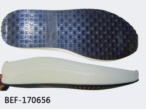 Natural rubber shoe sole
