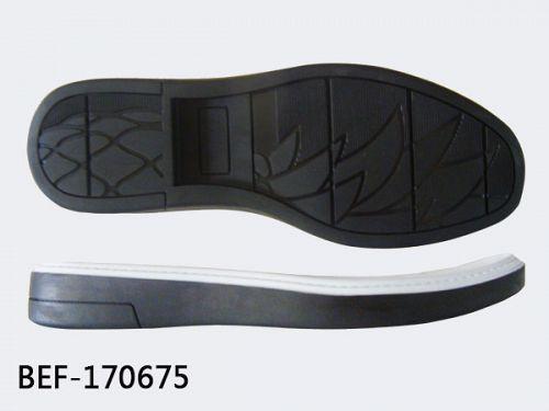 Rubber shoe sole making