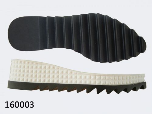 Rubber pu shoe sole